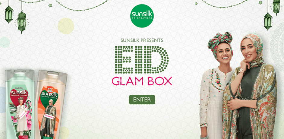 Sunsilk Eid GLAM Box